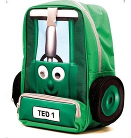 Tractor Ted Tractor Ted - Rugzak Groen groot