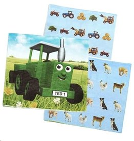 Tractor Ted Tractor Ted - Party Servetten - 16 stuks
