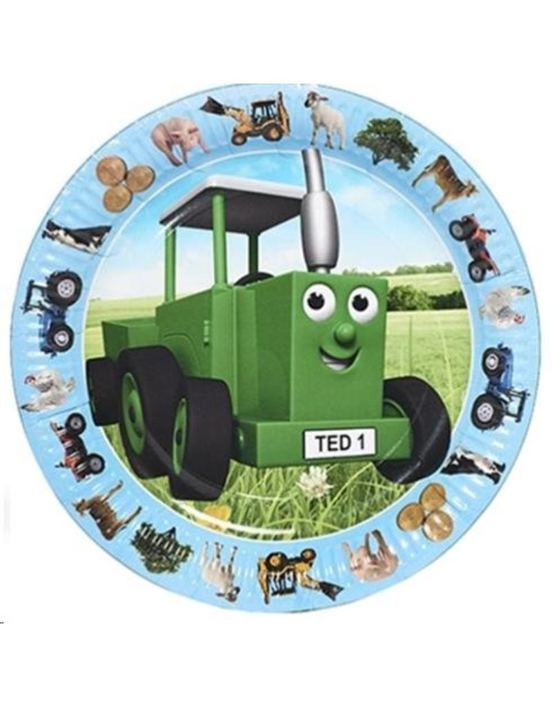 Tractor Ted Tractor Ted - Party Bordjes - 8 stuks