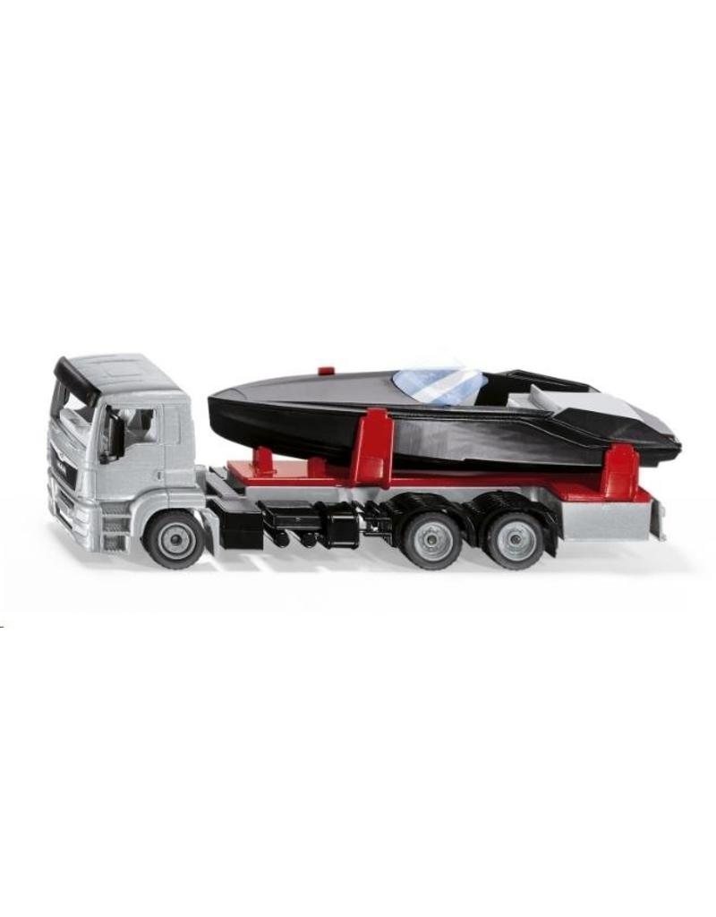 Siku Siku 2715 - MAN vrachtwagen met motorboot 1:50