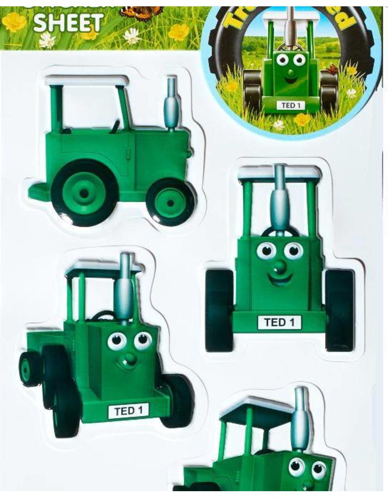 Tractor Ted Tractor Ted - 3D stickers (6 per vel)