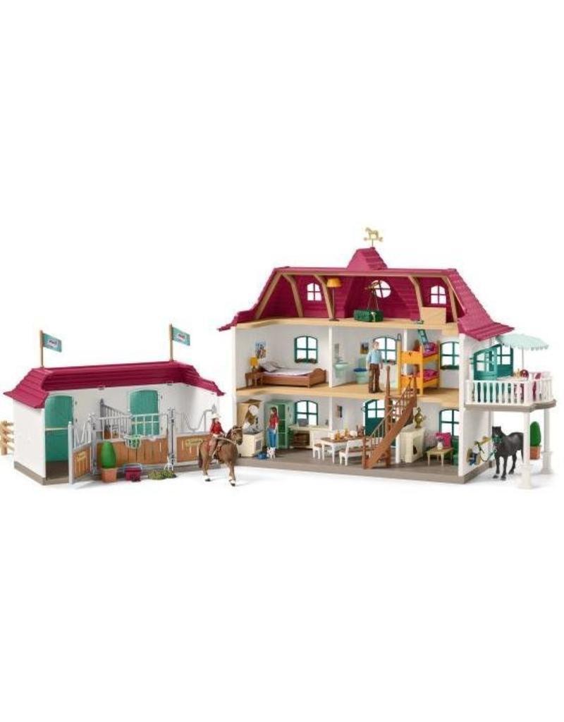 Schleich Schleich Horses 42416 - Groot huis met Paardenbox