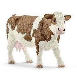 Schleich Schleich Farm 13801 - Simmental koe