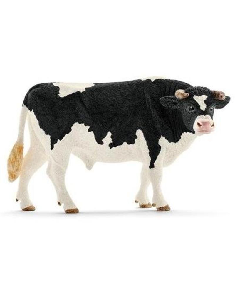 Schleich Schleich Farm 13796 - Zwartbont stier