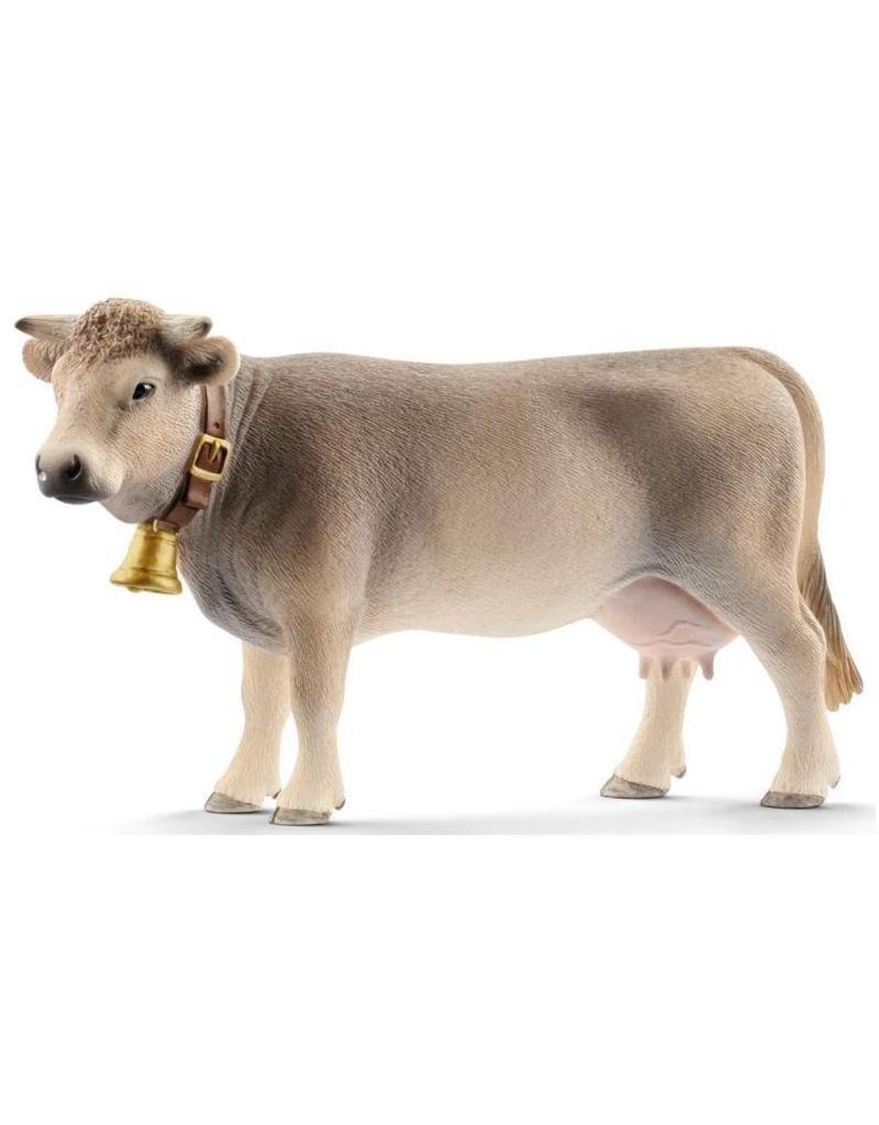 Schleich Schleich Farm 13874 - Braunvieh koe