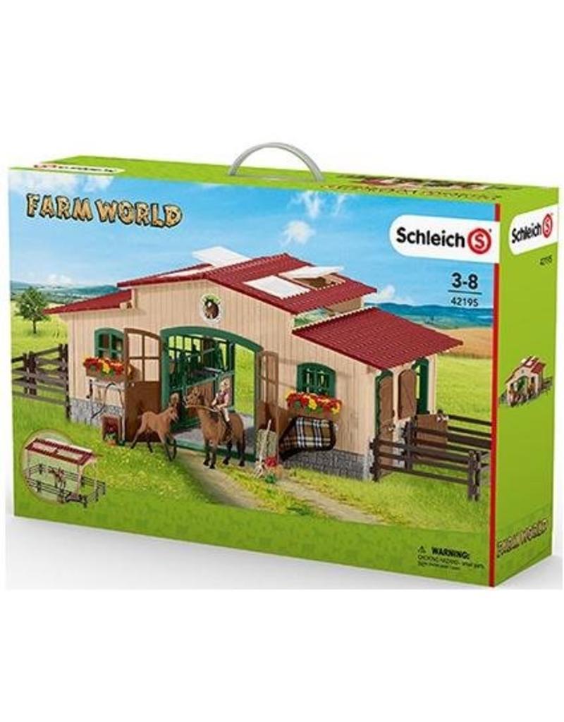 Schleich Schleich Horses 42195 - Paardenstal met accessoires