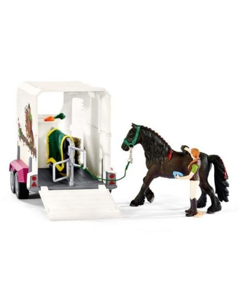 Schleich Schleich Horses 42346 - Pick-Up met paardenaanhanger