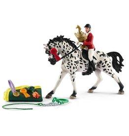 Schleich Schleich Horses 41434 - Toernooi met Knabstrupper Merrie