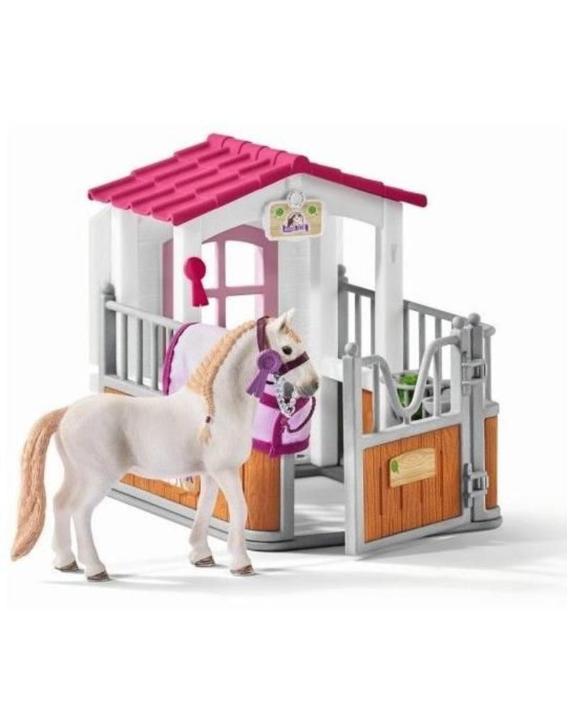 Schleich Schleich Horses 42368 -  Paardenbox met Lusitano merrie
