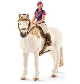 Schleich Schleich Horses 42359 - Amateur Ruiter met Paard