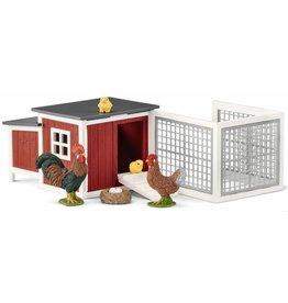 Schleich Schleich Farm 42421 - Kippenhok