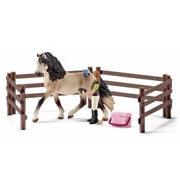 Schleich Schleich Horses 42270 - Andalusische paardenverzorgingsset