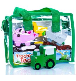 Tractor Ted Tractor Ted - Houten speeltjes in een tas