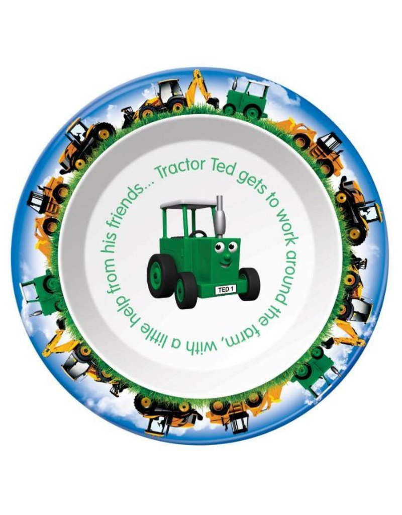Tractor Ted Tractor Ted - Ontbijtbord/Bakje Digger / grote machines