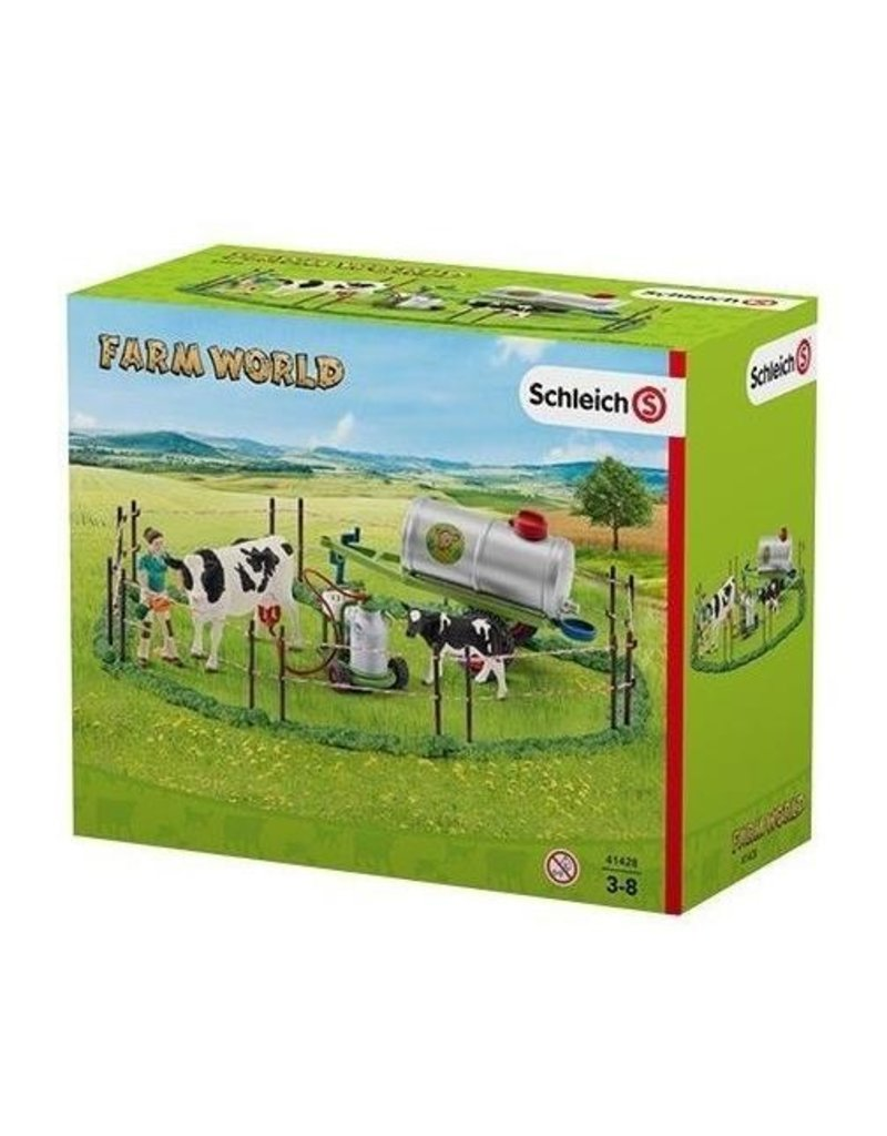Schleich Schleich Farm 41428 - Koeienfamilie op de weide