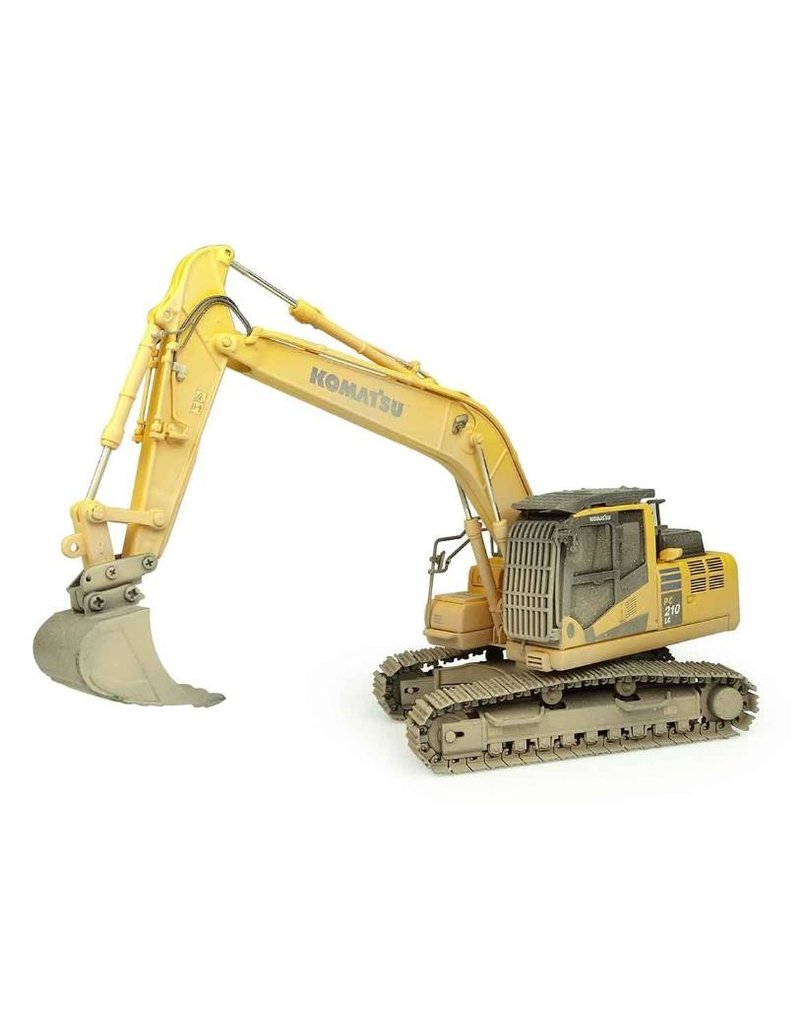 Universal Hobbies Universal Hobbies 8144 - Komatsu PC210 LC-11 muddy version 1:50
