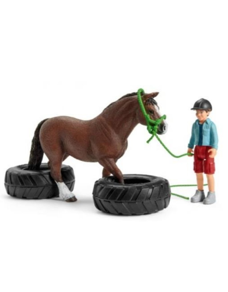 Schleich Schleich Horses 42482 - Pony behendigheidswedstrijd