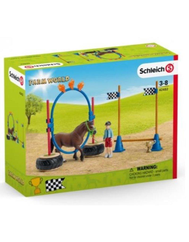 Schleich Schleich 42482 - Pony behendigheidswedstrijd