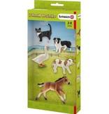 Schleich Schleich Farm 42386 - dieren set