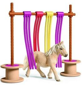 Schleich Schleich Horses 42484 - Pony obstakel gordijn