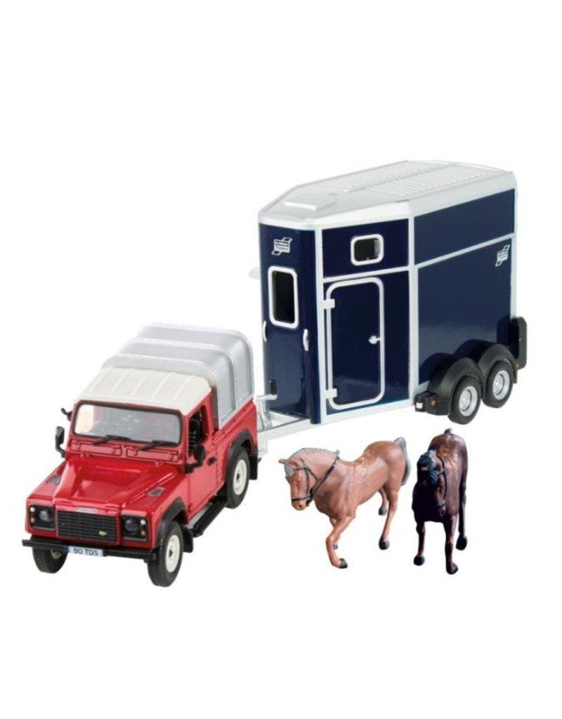 Britains Britains 43239 - Land Rover paardenset 1:32