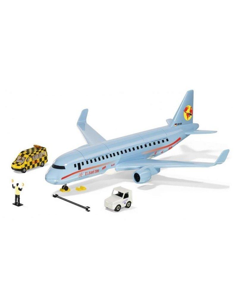 Siku Siku 5402 - SIKU World - Verkeersvliegtuig met accessoires 1:50