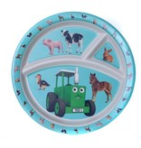 Tractor Ted Tractor Ted - 3-vaks bord Bamboo kleine dieren