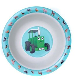 Tractor Ted Tractor Ted - Ontbijtbord/Bakje Bamboo kleine dieren