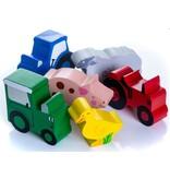 Tractor Ted Tractor Ted - Houten speeltjes in doosje