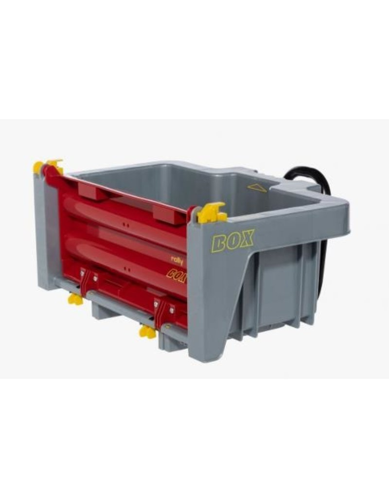 Rolly Toys Rolly Toys 408948 - TransportBox Grijs/Rood