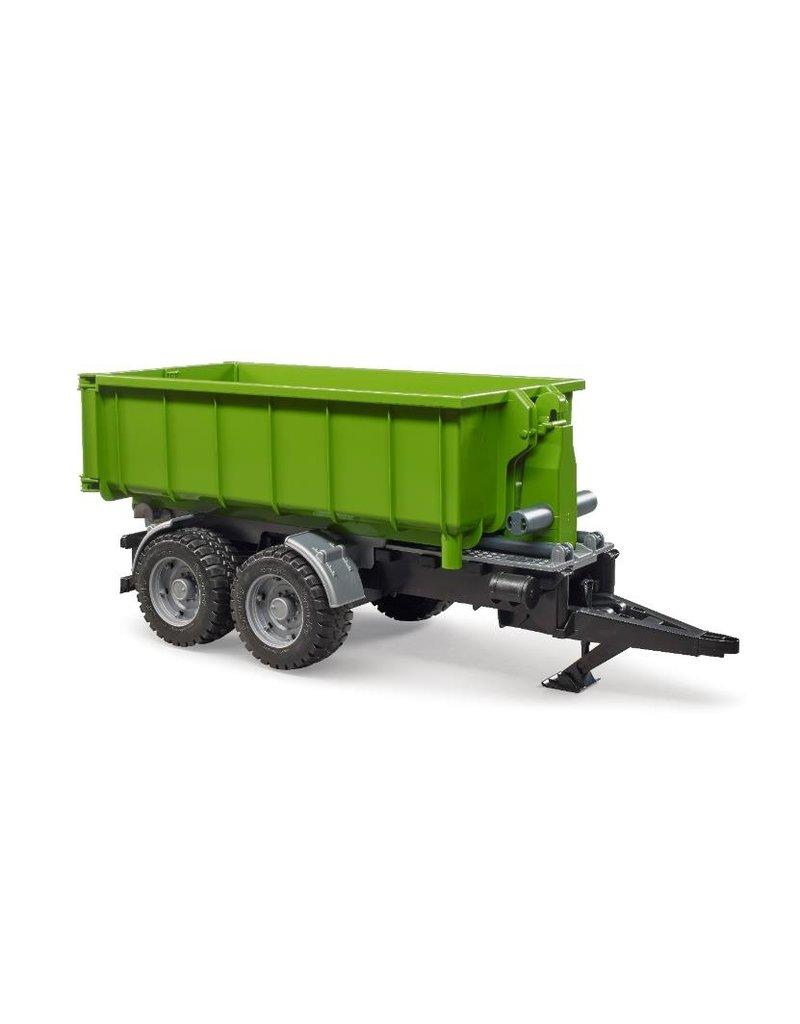 Bruder Bruder 2035 - Roll-off containertrailer voor tractoren