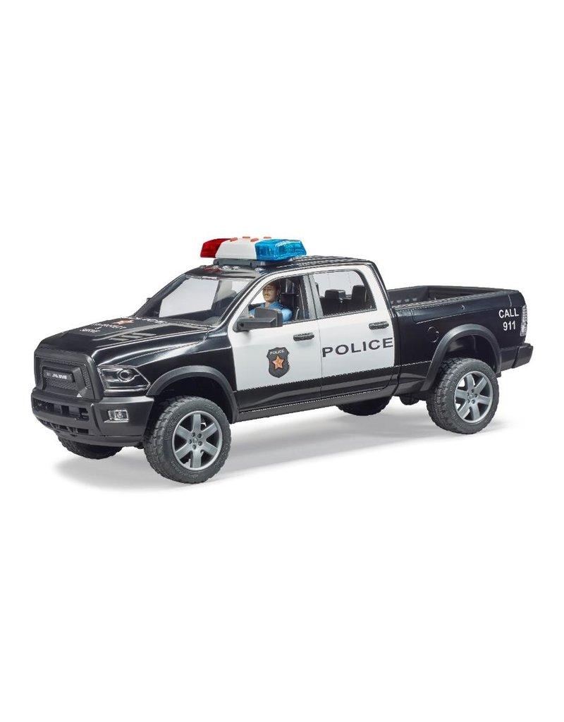 Bruder Bruder 2505 - RAM 2505 politietruck met speelfiguur