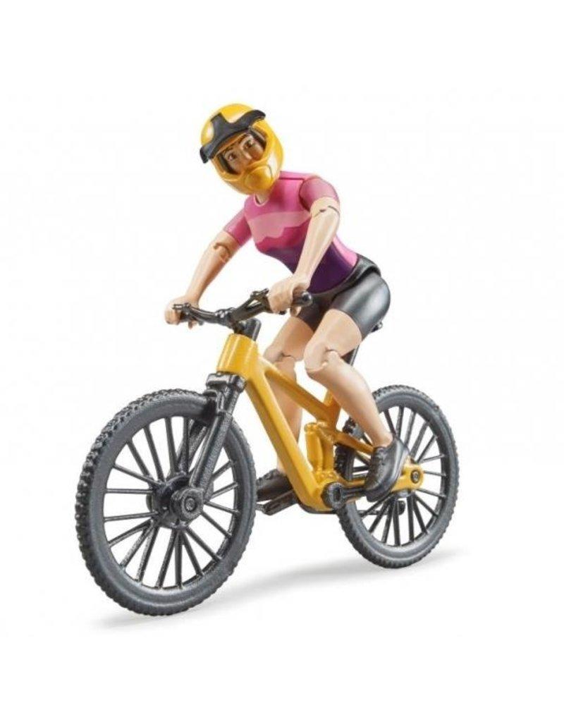 Bruder Bruder 63111 - Mountainbike met speelfiguur