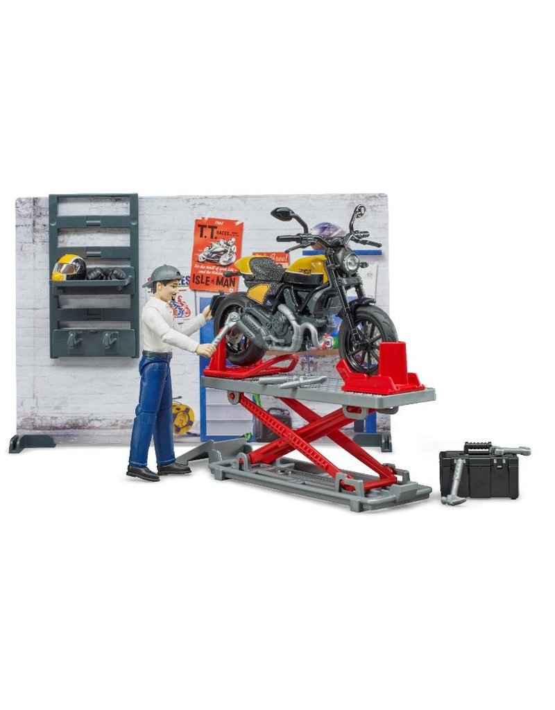 Bruder Bruder 62102 - Werkplaats voor motoren (Scrambler Ducati)