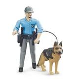 Bruder Bruder 62150 - Politie speelfiguur met hond