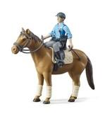 Bruder Bruder 62507 - Politie speelfiguur met paard
