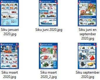 Siku 2020 nieuwe artikelen