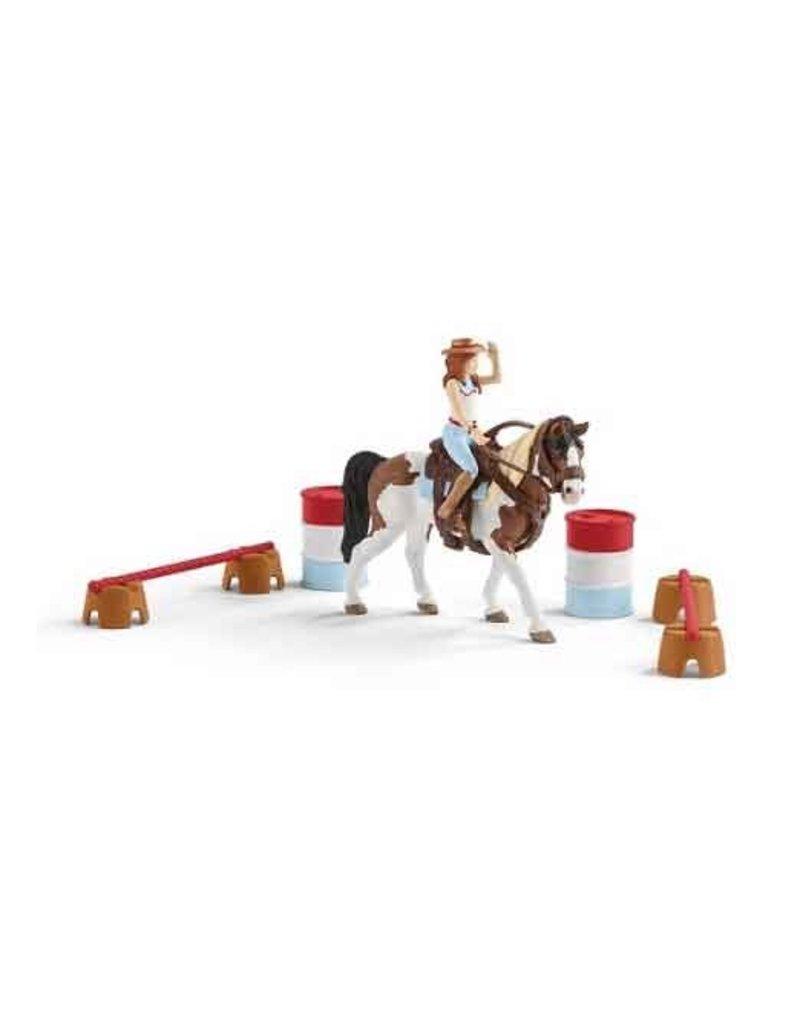 Schleich Schleich Horses 42441 - Western rijset Horse club Hannah