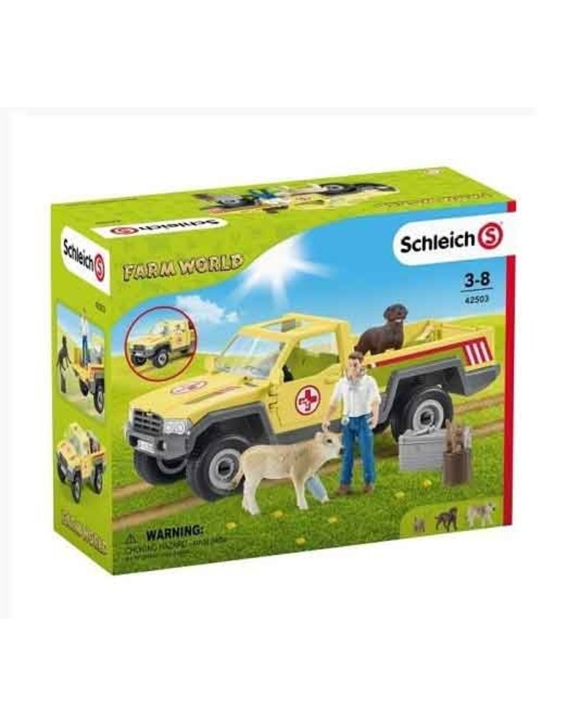 Schleich Schleich Farm 42503 - Dierenartsbezoek op de boerderij