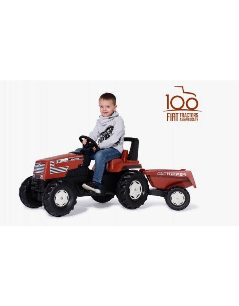 Rolly Toys Rolly Toys 601318 - Farmtrac New Holland Fiat Centenario + Tipper II aanhanger