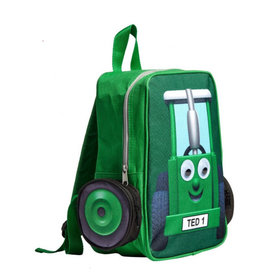 Tractor Ted Tractor Ted - Rugzak Groen groot / lunchtas