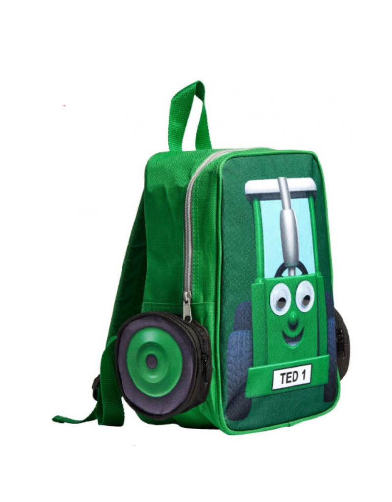 Tractor Ted Tractor Ted - Rugzak Groen groot / lunchtas