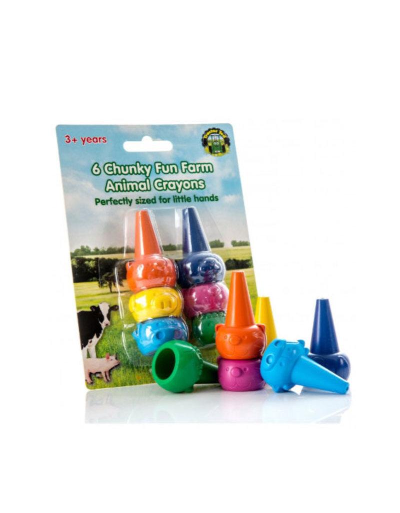 Tractor Ted Tractor Ted - dikke boerderij kleurpotloden