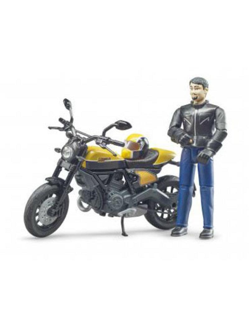 Bruder Bruder 63053 - Ducati Scrambler en berijder