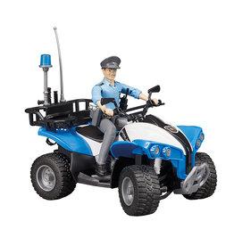 Bruder Bruder 63010 - Politie Quad met agent en accessoires