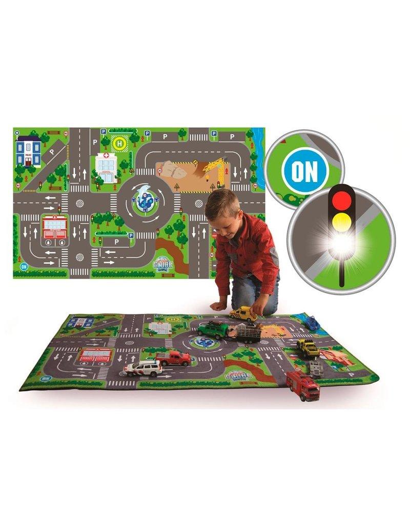Kids Globe Traffic 570271 - Verkeers speelkleed met led verkeerslichten