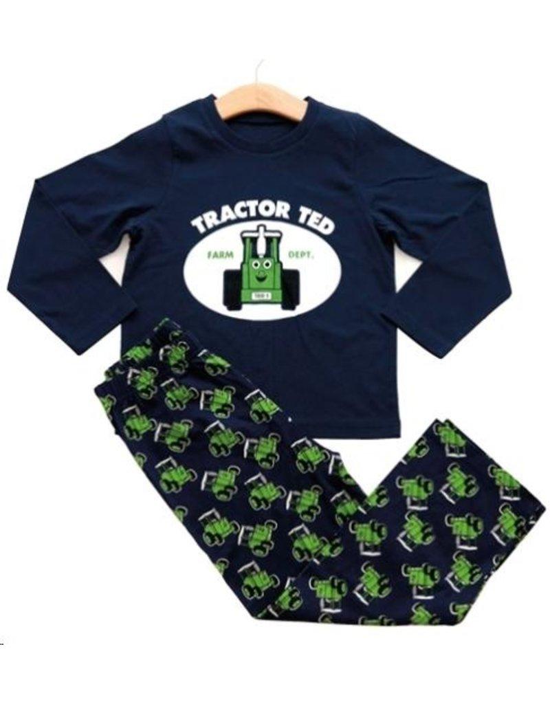 Tractor Ted Tractor Ted - Pyjama - 5-6 jaar donkerblauw