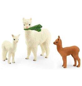 Schleich Schleich Horses 42544 - Alpaca familie