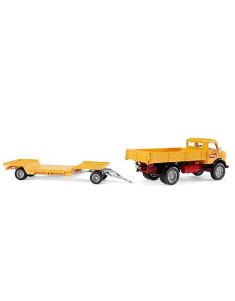Siku Siku 4117 - Mercedes Benz 710 met Kramer shovel 1:50