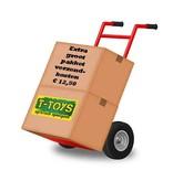 Rolly Toys Rolly Toys 611102 - John Deere 6210 R met Rolly Traclader en luchtbanden